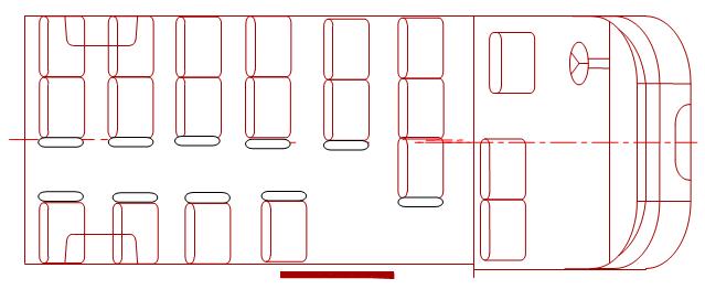 Схема планировки салона: