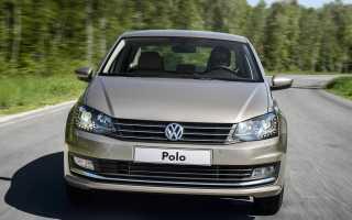 Фольксваген Поло седан (Volkswagen Polo): умелая замена масла двигателя и фильтра VW