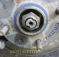 Замена подшипника передней ступицы Шевроле Лачетти (Chevrolet Lacetti ) — Диабло