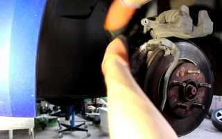 Шевроле Круз — замена тормозных колодок — журнал За рулем