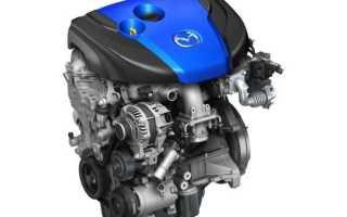 Что такое двигатель skyactiv