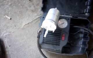 Как заменить топливный фильтр на Шкода Октавия А5 дизель