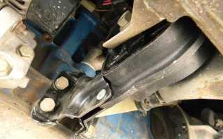 Что такое подушку двигателя ваз2109