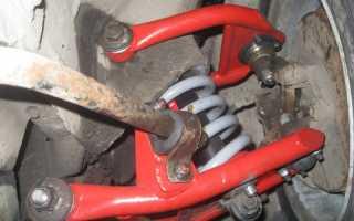 Капитальный ремонт ходовой части ВАЗ 2101