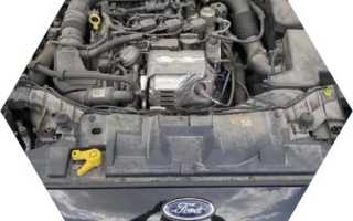 Цены на ремонт двигателя Ford Focus II