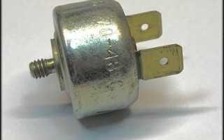 Датчики температуры двигателя камаз