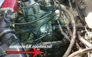 Замена термостата рено логан 1