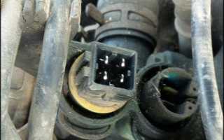 Датчик температуры двигателя awt