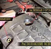 Замена масла Тойота РАВ 4 2013 года