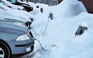 Что такое электрообогрев двигателя