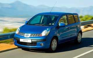Nissan note обороты двигателя