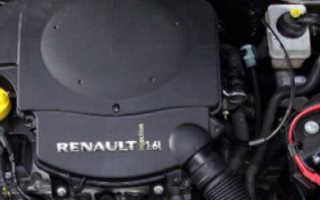 Двигатель Renault Logan K7M