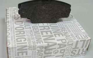 Периодичность замены передних тормозных колодок на Рено Логан 2