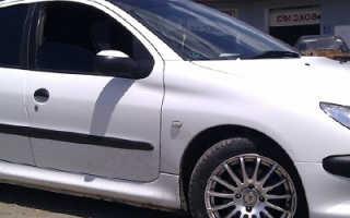 Что делать при поломке задней балки Peugeot 206