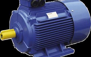 Двигатель аир63в2 схема подключения