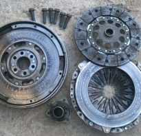 Ведомый и нажимной диски сцепления Ауди А6 С5