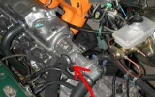 Где находится номер двигателя на ВАЗ-2115