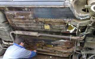 Самостоятельный ремонт днища на ВАЗ 2110