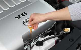 Контролируем уровень моторного масла