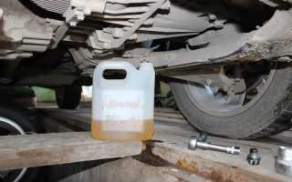 Замена масла в АКПП «Пежо-206»