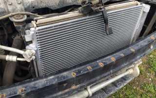 Как заменить радиатор кондиционера своими руками