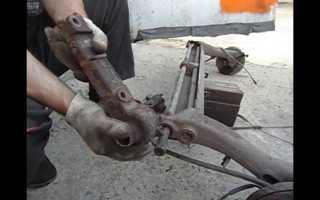 Замена сайлентблока задней балки (фотоотчет) | Форум владельцев Renault Megane