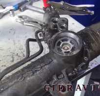 Ремонт рулевой рейки мерседес вито 639 своими руками