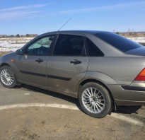 Диски Ford Focus 1