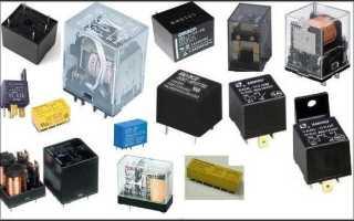 Электрическая схема пуска двигателя постоянного тока