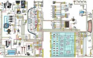 Электрическая схема запуска двигателя ваз 2110
