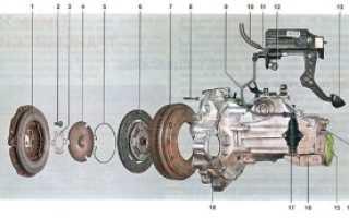 Снятие механической коробки передач на Шкоде Октавии Тур для замены сцепления