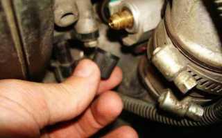 Проверка давления в топливной рампе ВАЗ 2115