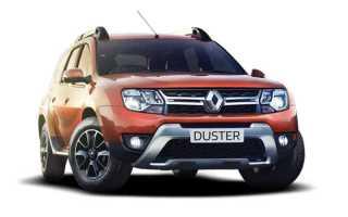 Замена передних тормозных колодок Renault Duster (Рено Дастер)