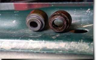 Замена маслосъемных колпачков ВАЗ 2109