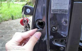 Ремонт замка двери и установка ремкомплекта стеклоподъемника