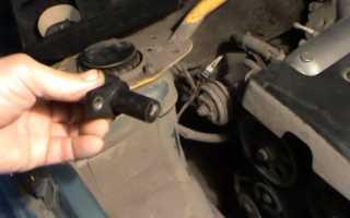 Замена датчика положения коленвала на ВАЗ 2110, ВАЗ 2111, ВАЗ 2112