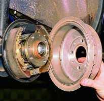 Замена барабанной тормозной системы на дисковую своими руками