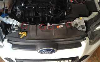 Недорогой ремонт переднего и заднего бамперов Ford Focus в СПБ