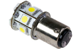 Замена обычных ламп автомобиля на светодиодные
