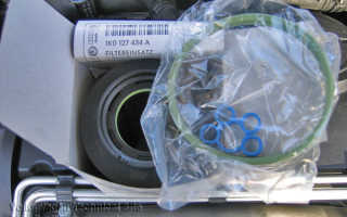 Замена топливного фильтра на Фольксваген Гольф Плюс, двигатель BKD