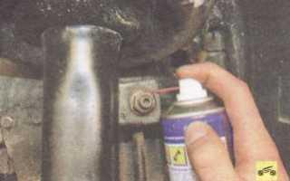 Замена деталей стабилизатора поперечной устойчивости передней подвески Ford focus 2 и 2 рестайлинг