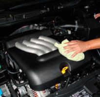 Где и как помыть двигатель