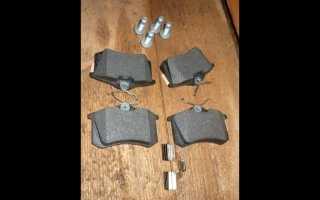 Замена задних тормозных дисков на Шкода Октавия Тур