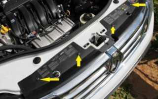 Как снять бампер на Renault Duster