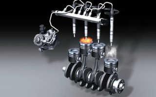 Давление форсунок двигатель wlt