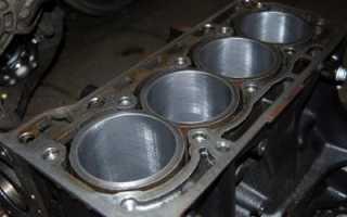 Что такое двигатель загильзован