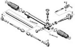 Ремонт рулевой рейки на ВАЗ-2113, 2114, 2115