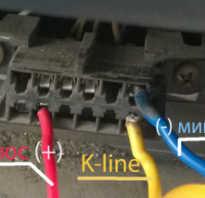 Диагностический разъем ваз 21099 инжектор