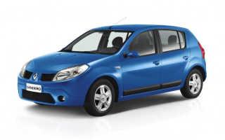 Смена топливного фильтра в автомобиле Renault Sandero