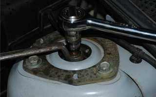 Замена задних амортизаторов на Mazda 3; Автомобильный справочник